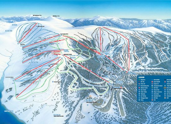 Falls Creek Ski Map