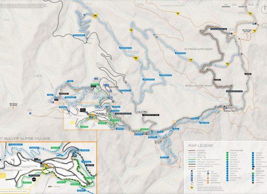 Mt Buller Mountain Bike Map