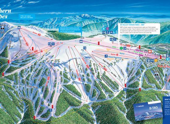 Mt Buller Ski Map