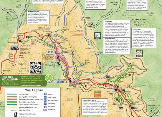 Mt Hotham Trail Map